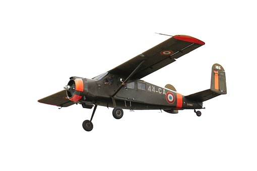 Aircraft, Old Vintage, Propeller Plane, Wing, M17, Army