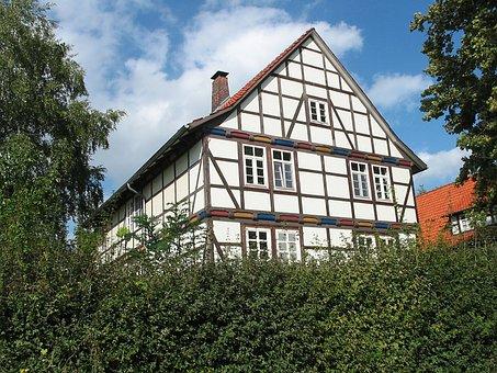 Göttingen, House, Architecture, Germany, Facade