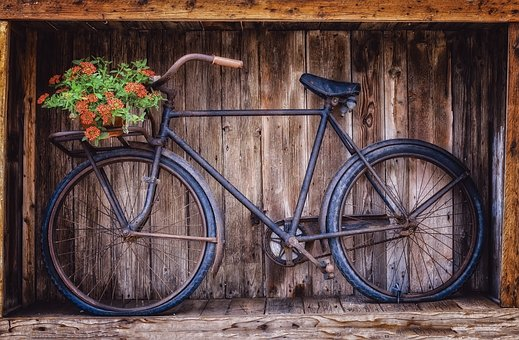 Bike, Two Wheeled Vehicle, Wheel, Nostalgia, Rust, Old