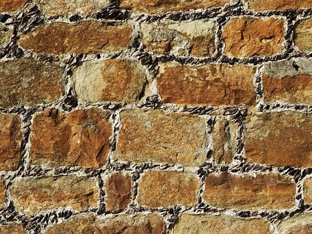 Stone, Brick, Wall, Texture, Mortar, Flint, Block
