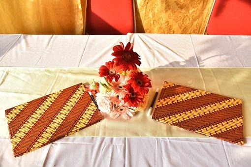 Table, Vase, Flower, Book