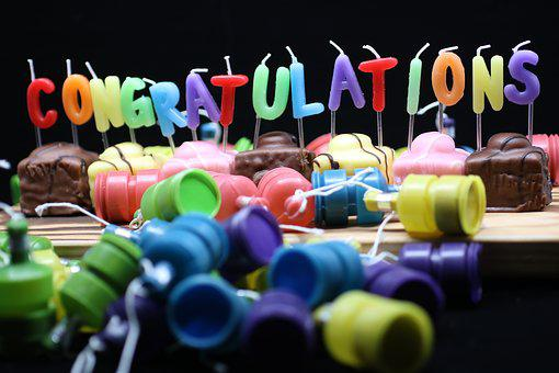 Black, Cake, Congratulation, Congratulations, Cakes