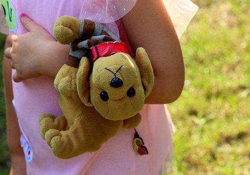Children, Childhood, Toy, The Mascot, Cuddly, Friend