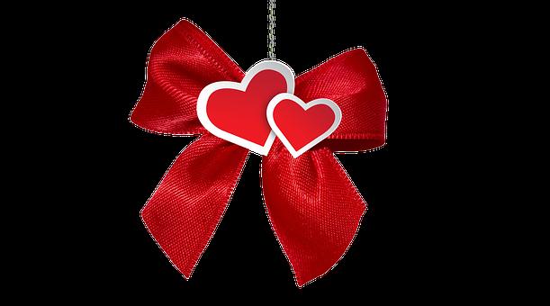 Loop, Heart, Gift, Pair, Christmas, Give, Love, Warmth