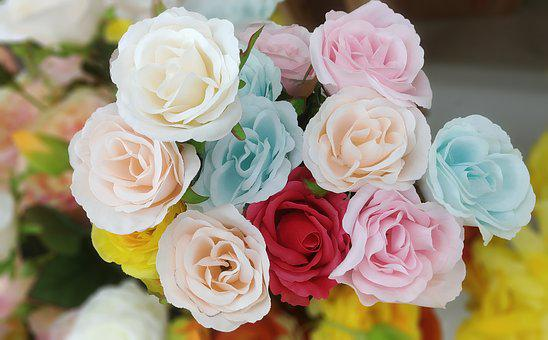 Rose, Harmony, Artificial Flower, Flowers