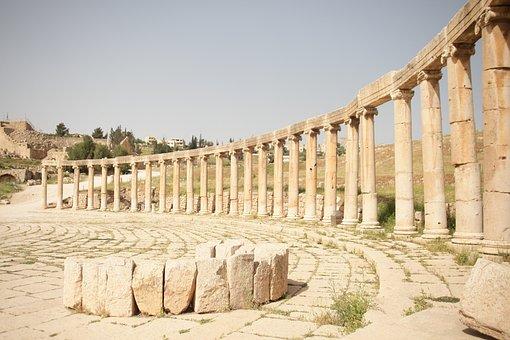Jerash, Jordan, Roman Ruins, Travel, Ruin, Vacations