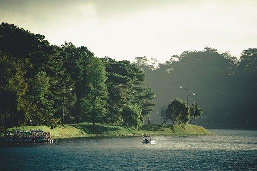 Travel, Landscape, Nature, Water, Summer, Sunset