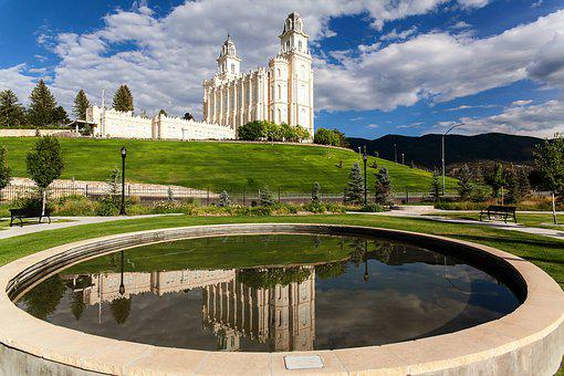 Manti Temple, Temple, Lds, Religious, Religion, Saints