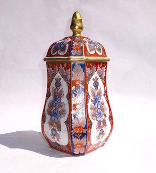 Limoges, Porcelain, Vase