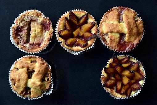 Tart, Fruit Tarts, Small, Pastries, Baking Tray, Baked