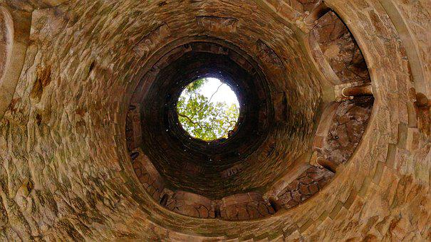 Well, Architecture, Historical, Old, Portugal, Sintra