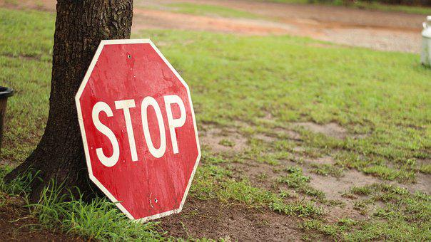Stop, Sign, Red, Traffic, Symbol, Road, Signs, Icon