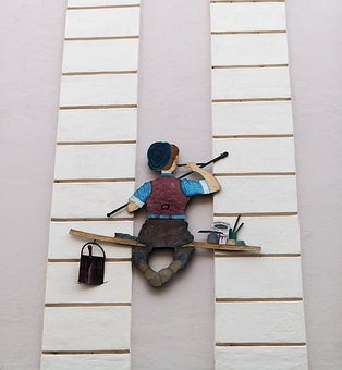 Painter, Facade, Wall, Paint, Artists, Structure, Color