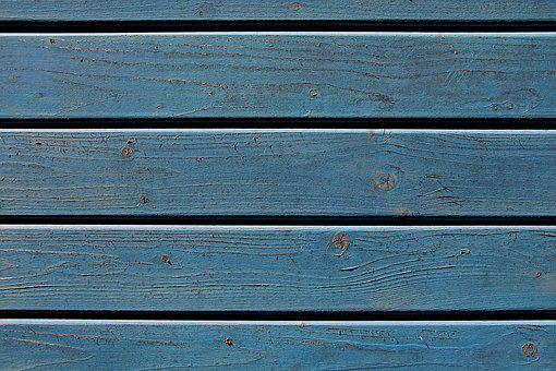 Wood, Texture, Blue, Background, Pattern, Structure