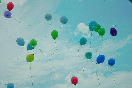 The Feast Of The, Balloons, The Ceremony, Sky