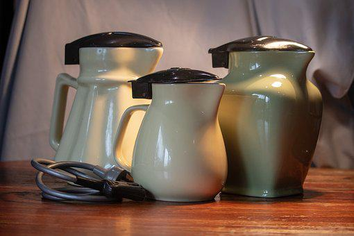 Antique, Jugs, Electric, Old, Ceramic, Vintage