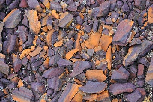 Geology, Rocks, Color, Orange, Weathered, Iron Oxide