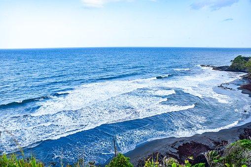 Ocean, Windward, Surf, Rough Seas