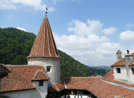 Bran, Romania, Transylvania, Carpathian Mountains
