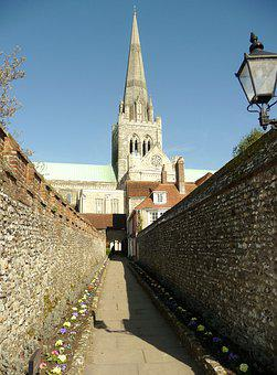 Chichester Cathedral, Cathedral Walk, Cathedral Spire