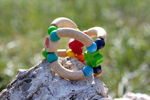 Toys, Wooden Toys, Baby Toy, Stone, Circlips, Wood