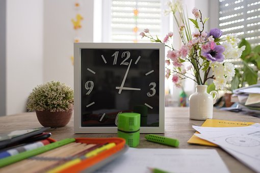 Time, Clock, Pointer, Clock Face, School, Learn