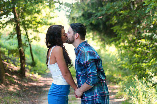 Couple, Love, Kiss, People, Romantic, Woman, Romance