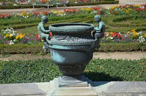 Garden, Vase, Nature, Flower, Decoration, Plant, Green