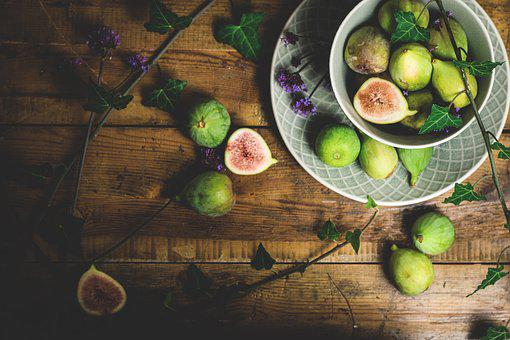 Fig, Fresh, Rustic, Fruit, Healthy, Delicious, Eat