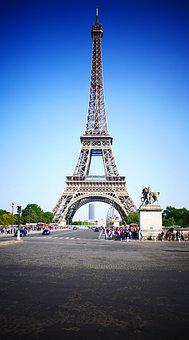 Paris, France, Eiffel Tower