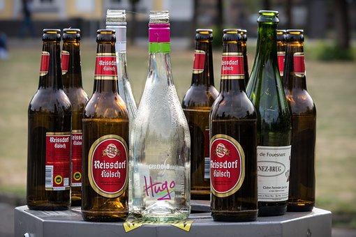 Bottles, Empties, Recycled Glass, Beer Bottles