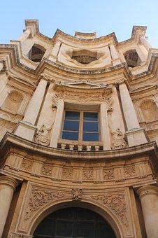Noto, Sicilia, Si, Sicily, Architecture, Italy, Facade