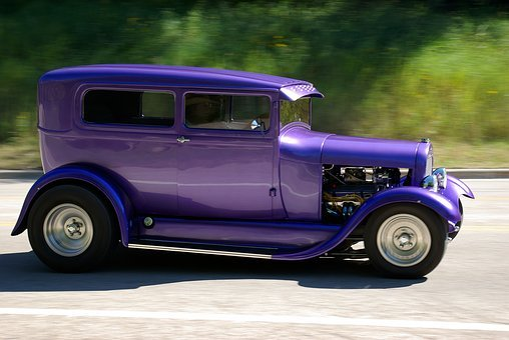 Sturgis Hot Rod, Hotrod, Motion, Classic, Cruise, Car