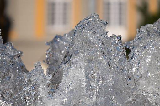 Fountain, Bubble, Inject, Refreshment, Splash, Murmur