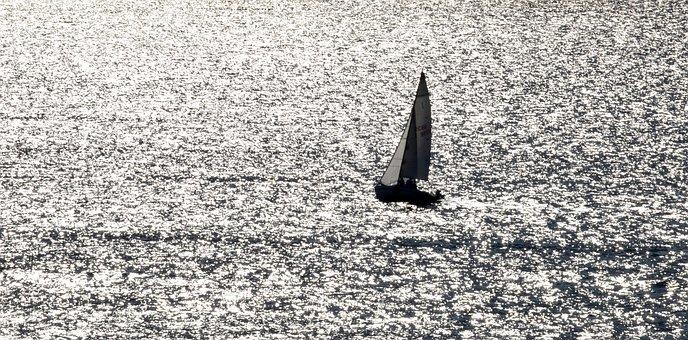 Sailing Boat, Water, Boat, Lake, Wave, Reflection