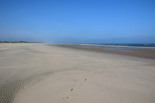 Langeoog Beach, Beach, Dune, Coast, North Sea
