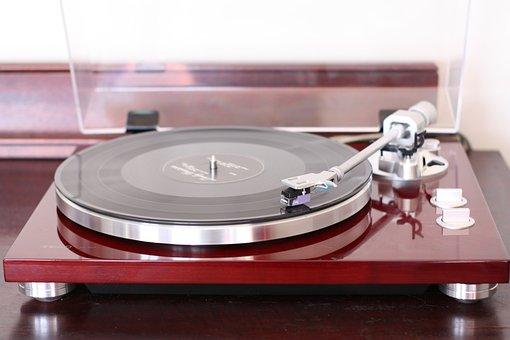 Record Player, Teac, Music, Plate, Lp, Album, Vinyl