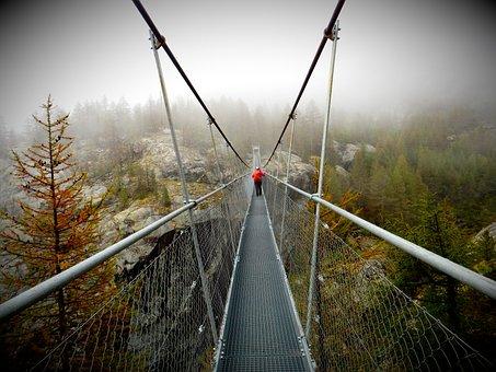 Achieve The Purpose Of, Away, Nature, Reach, Bridge