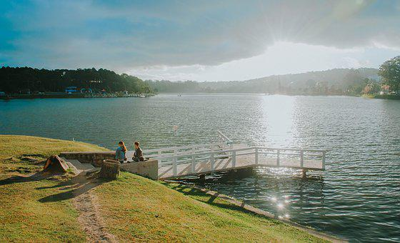Landscape, Nature, Water, Summer, Sunset, Scenic, Sea