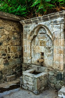 Fountain, Stone, Old, Architecture, Traditional