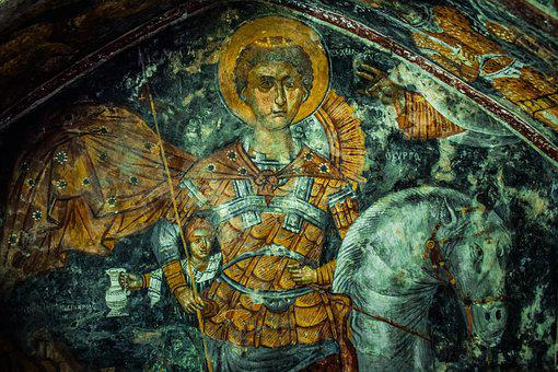 Saint George, Ayios Georgios, Iconography, Painting