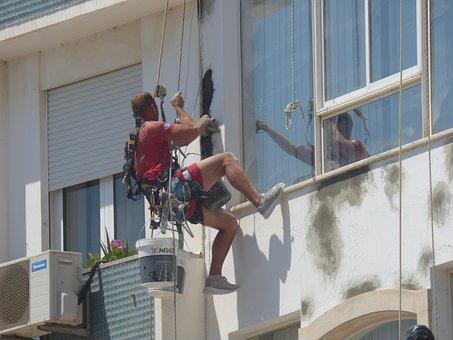 Building, Hanging, Refurbish, Painting