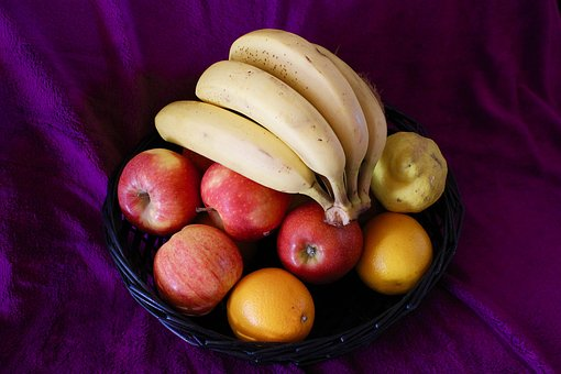 Fruit, Recycle Bin, Banana, Apple, Bananas, Apples