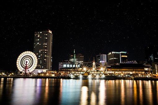 Japanese, Japan, Osaka, Kobe, Kyoto, Port Of Kobe, Road