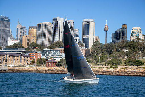 Sail, Boat, Sydney, Harbour, Sea, Water, Sailing, Ship