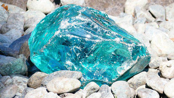 Stone, Blue, Stones, Deco, Light, Turquoise