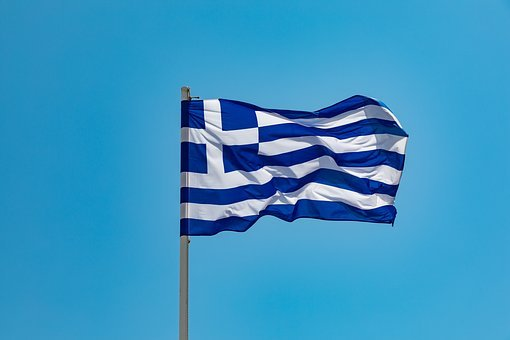 Flag, Greece, Country, Greek, Nation, Symbol, Blue