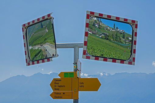 Mirror, Mirroring, Directory, Wall Guide, Vineyards