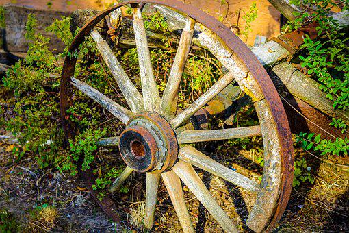 Wheel, Wagon Wheel, Spokes, Wagon, Agriculture, Dare