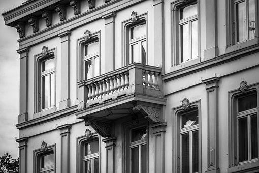 House, Balcony, House Facade, Window, Building